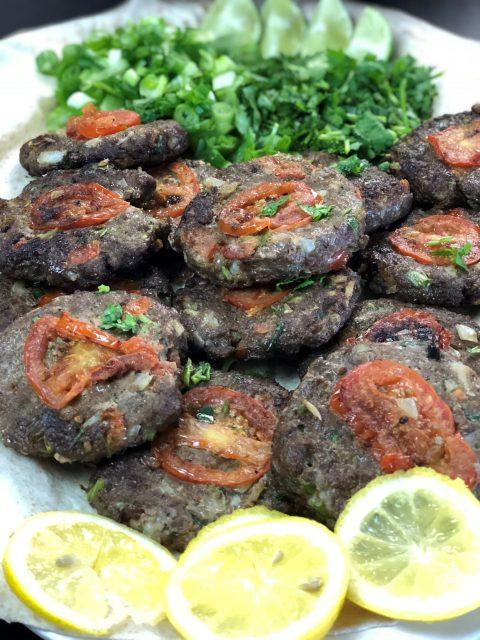 chapli kabab afghan recipe    چپلی کباب افغانی