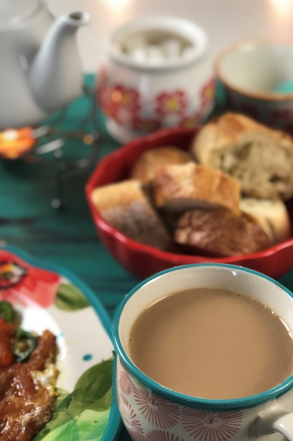 afghan breakfast sheer chai