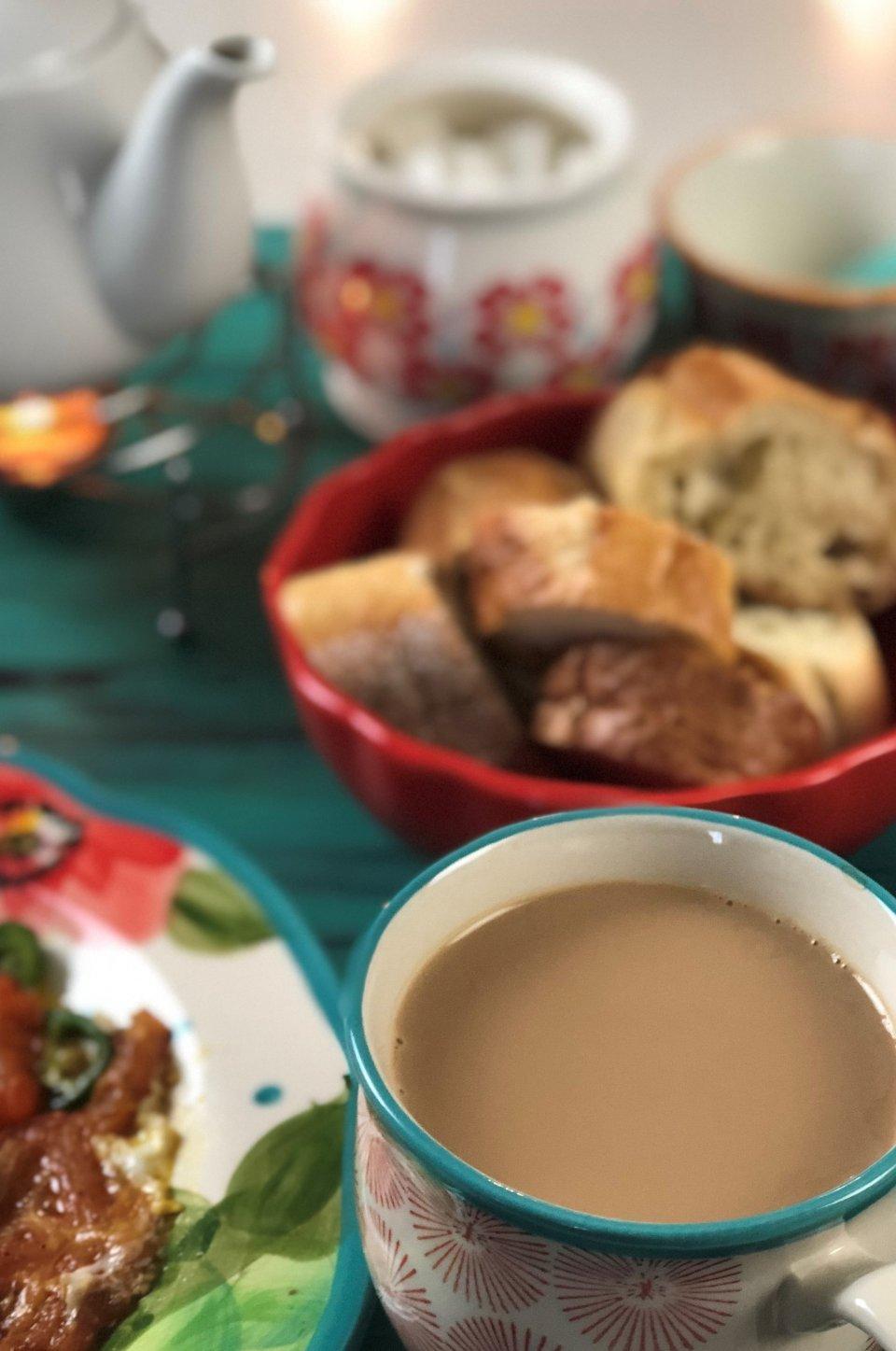 شیر چای