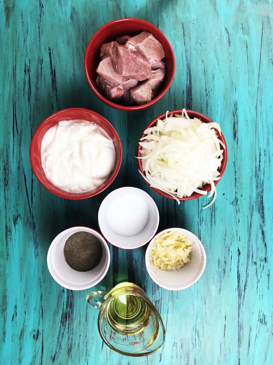 What you need to make kabab digi afghani