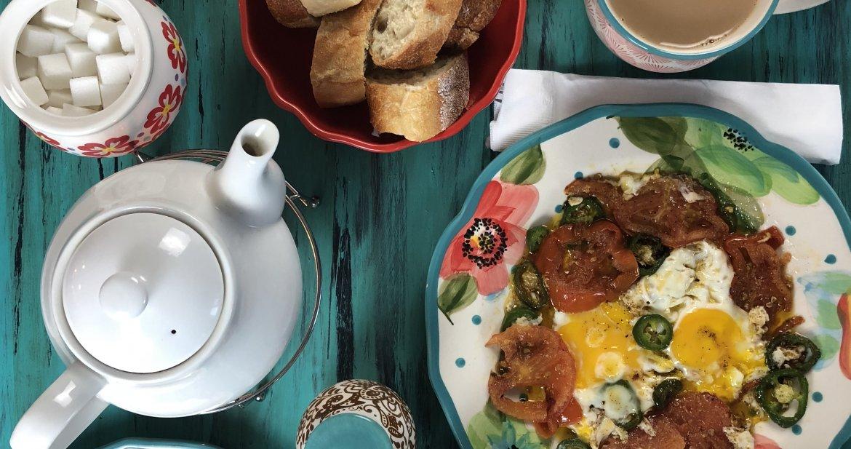 afghan breakfast