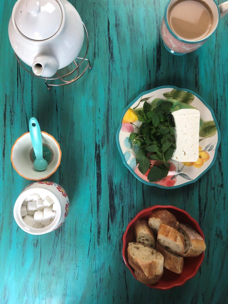 afghan breakfast paneer