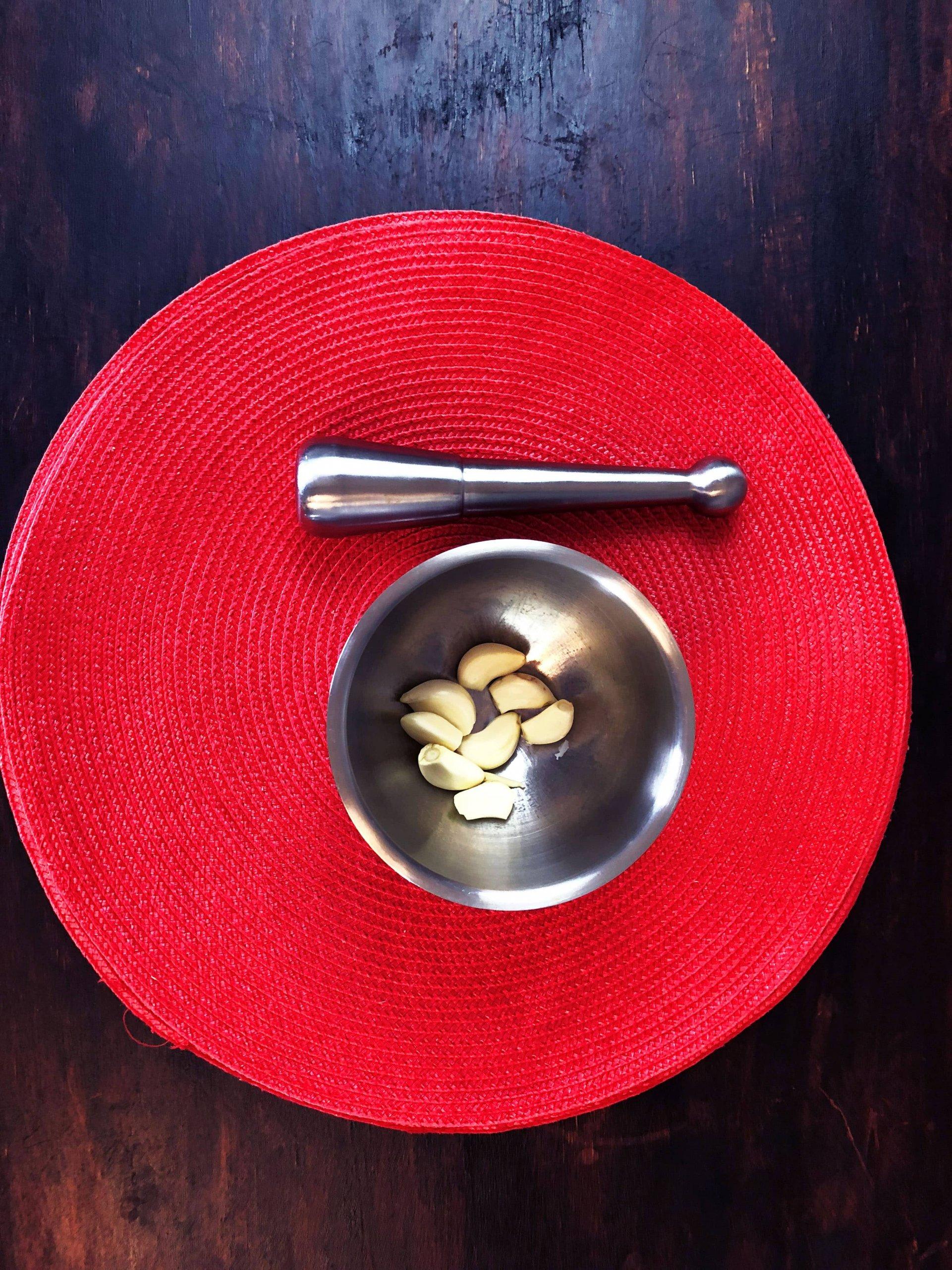 garlic for qurooti