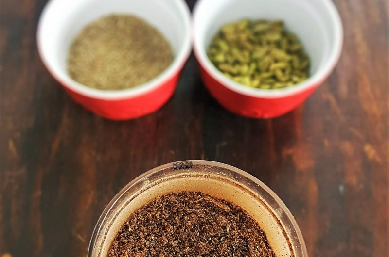 Char masala (Spice mix for Afghan Rice Recipes)