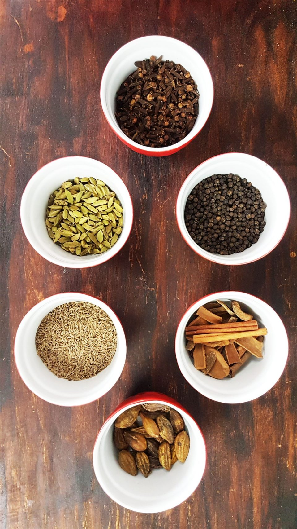 spices for char masala