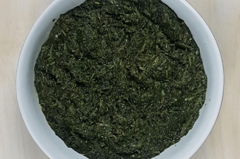 Palak Sabzi Recipe (Sabzi Palak-Afghan Spinach Curry